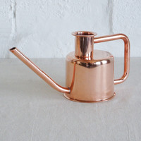 Copper Metal Watering Can