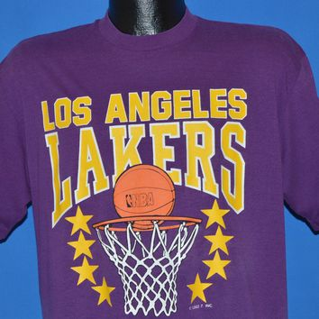 90s Los Angeles Lakers NBA t-shirt Large