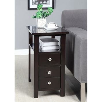 Dark Espresso Side Table | Overstock.com Shopping - The Best Deals on Coffee, Sofa & End Tables