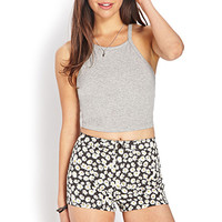 Sweet Daisy Denim Shorts