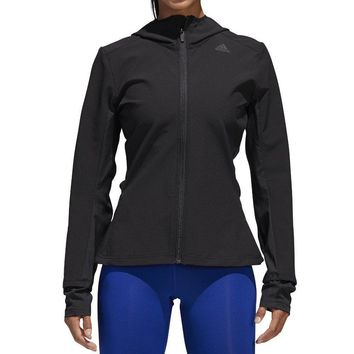 adidas Womens Running Response Long sleeve Fitted Jacket