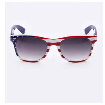 """""""American Pride"""" Red, White and Blue American Flag Sunglasses"""