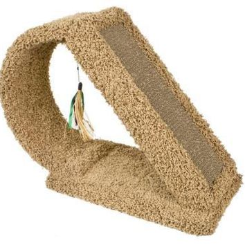 Cat Scratch Tunnel With Corrugate Boxed