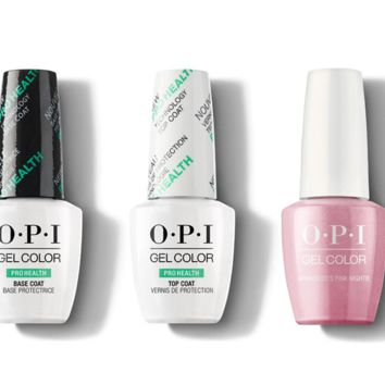 OPI - GelColor Combo - Base, Top & Aphrodites Pink Nightie