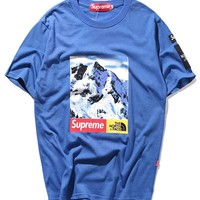Cheap Women's and men's supreme t shirt for sale 501965868-0145