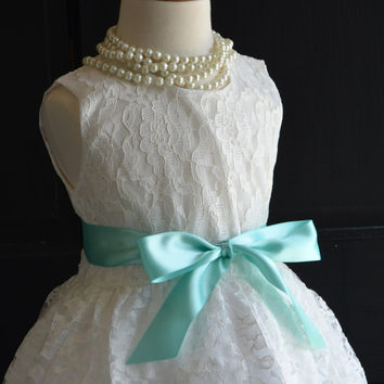 White Lace Vintage Inspired Dress