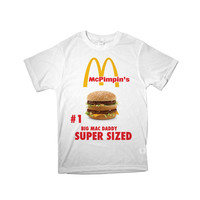BIG MAC DADDY pimp shirt tumblr cyber fashion rave seapunk kawaii t-shirt