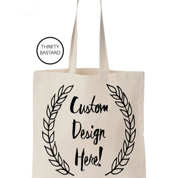 Custom Tote-bag! Great for weddings, vacations, bachelorette parties, gifts and more.