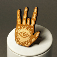 Jerry protection hand wood pin