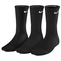 Nike 3 Pack Moisture MGT Cushion Crew Socks - Men's