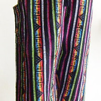 mens unisex striped fishermans hill tribe pants free size 2C