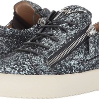 Giuseppe Zanotti Mens May London Glitter Low Top Sneaker
