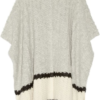 Elizabeth and James - Textured-knit wrap