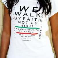 """Walk by Faith"" Tee"