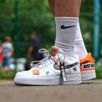 """Just do it ""Nike Air Force 1 Low Sneaker AR7719-100"