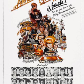 American Graffiti Movie Poster 24in x36in