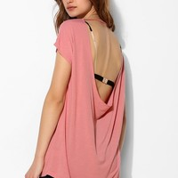 Truly Madly Deeply Drape-Back Tunic Top - Urban Outfitters