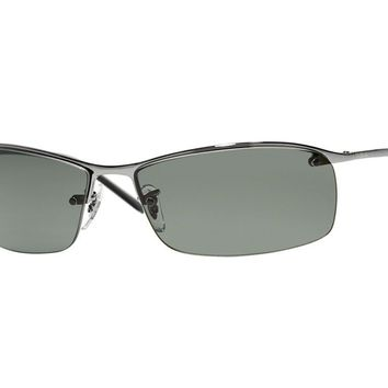 sunglasses Ray Ban RB3183 metal green polarized 004/9A