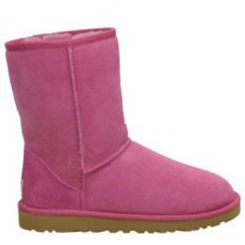 UGG Classic Short Raspberry Rose Outlet UK