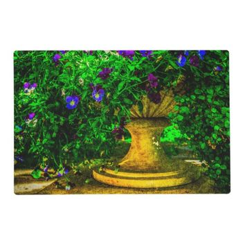 Summer in the garden placemat