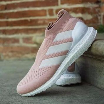 Kith x Adidas Ace 16+ PureControl Ultra Boost 'Vapour Pink'