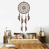 Vinyl Wall Mural Dreamcatcher Talisman Bedroom Decor Stickers Unique Gift (ig3147)