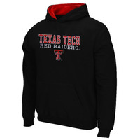 Texas Tech Red Raiders Youth 3 Stack II Pullover Hoodie - Black - http://www.shareasale.com/m-pr.cfm?merchantID=7124&userID=1042934&productID=547708875 / Texas Tech Red Raiders