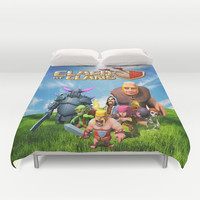 Clash of Clans Duvet Cover by Store2u