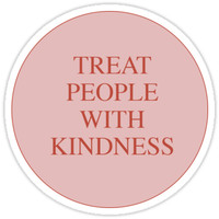 'Treat People With Kindness Harry Styles' Sticker by happilindsay