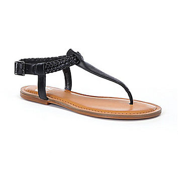 GB Keep-Calm T-Strap Sandals