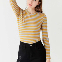 Truly Madly Deeply Fitted Long Sleeve Tee | Urban Outfitters