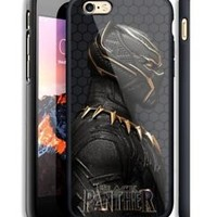 Black Panther Marvel Movie Hard Case For iPhone 6 6+ 6s 6s+ 7 7+ 8 8+ X Cover