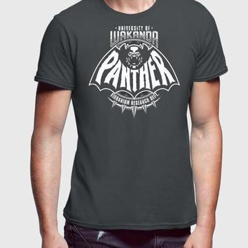 Black Panther Charcoal T-shirt