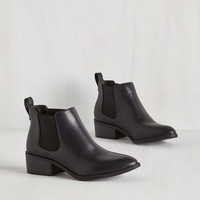 A-list Playlist Bootie in Black by BC Footwear from ModCloth