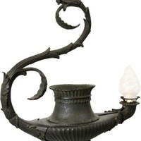 One Kings Lane - Frederick P. Victoria  Son - 19th-C. Bronze Light Fixture