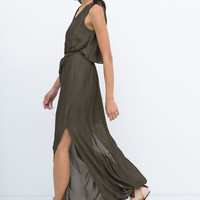 Long layer dress