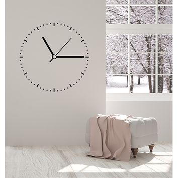 Vinyl Wall Decal Time Abstract Clock Dial Art Home Interior Stickers Mural (g356)