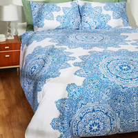 Must've Slept My Mind Duvet Cover Set in Full/Queen