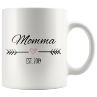 Don't miss out on this - Momma Est. 2019 Coffee Mug | New Momma Gift