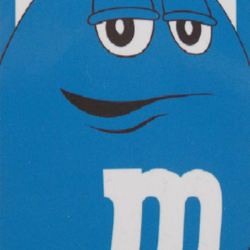 "M&M Character Blue Cabana Stripe Oversize Beach Bath Towel 30"" x 60"" 100% Cotton"