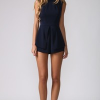 HelloMolly | Sienna's Theme Playsuit Navy