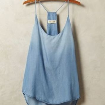 Chambray Racerback Tank by Cloth & Stone Blue