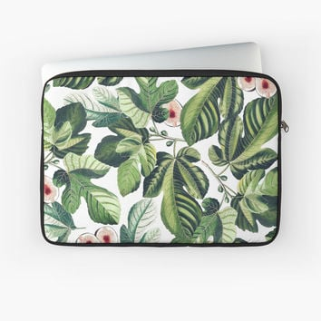 'Fig Garden #redbubble #decor #buyart' Laptop Sleeve by 83oranges