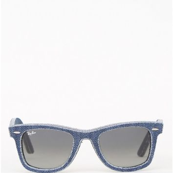Wayfarer Sunglasses in Denim