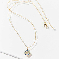 Cubic Zirconia Evil Eye Necklace | Urban Outfitters
