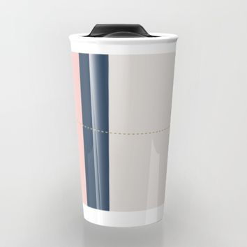 a few golden dots Travel Mug by Ia Po