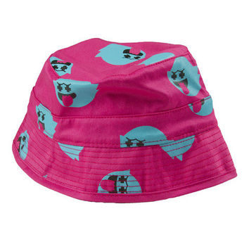 Pink+Dolphin — *LTD* All Over Ghost Bucket Hat in Pink