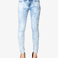 Cloud Wash Skinny Jeans | FOREVER21 - 2000050128