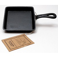 Old Mountain Cast Iron Preseasoned Square Skillet