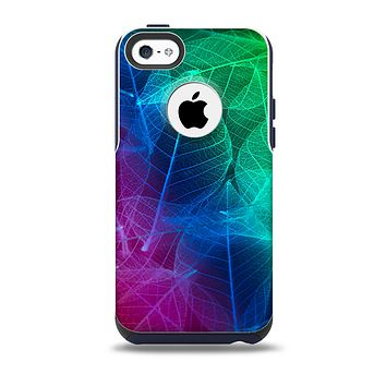 The Glowing Leaf Structure  Skin for the iPhone 5c OtterBox Commuter Case